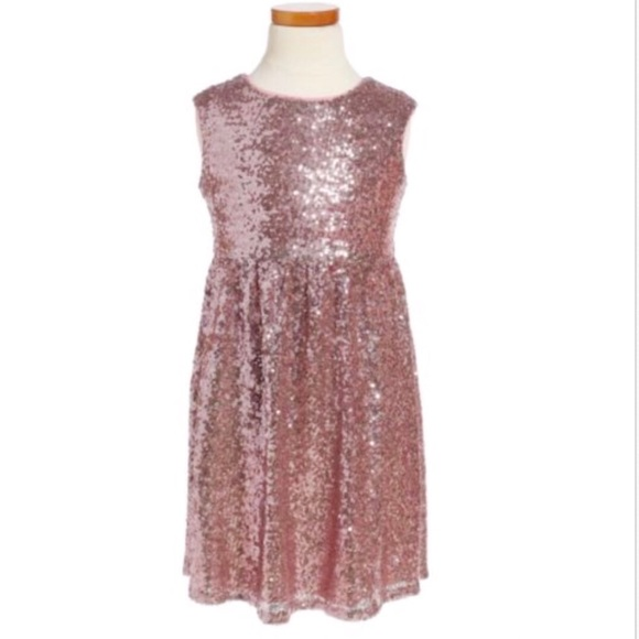 Nickie Lew Other - LOVE NICKIE LEW PINK SEQUIN PARTY DRESS TODDLER 2